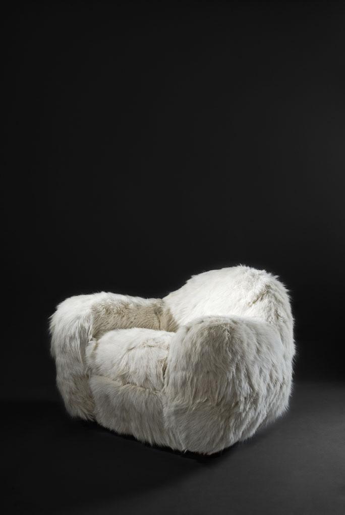 Paire de fauteuils «Boule», vue 03