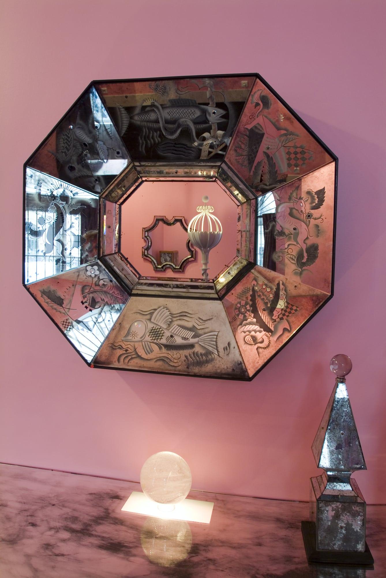 """Vue de l'exposition """"Un univers baroque"""" à Galerie Chastel-Maréchal, octobre 2006, vue 01"""