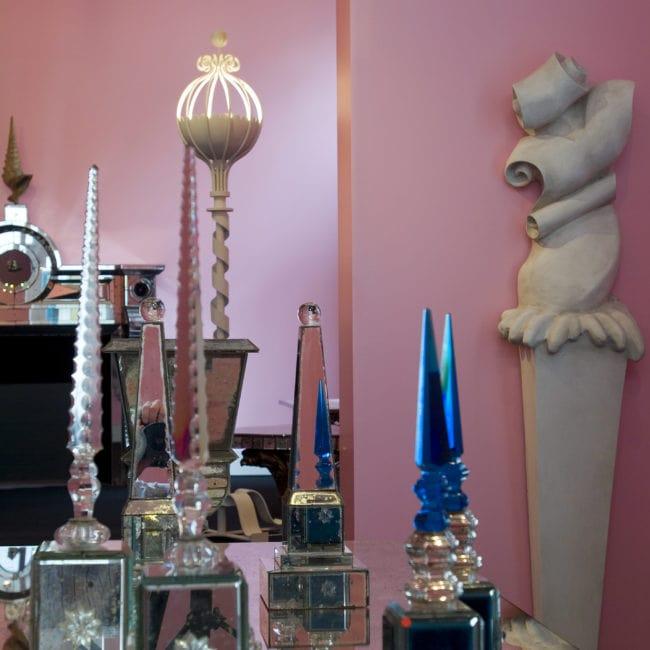 Vue de l'exposition «Un univers baroque» à Galerie Chastel-Maréchal, octobre 2006