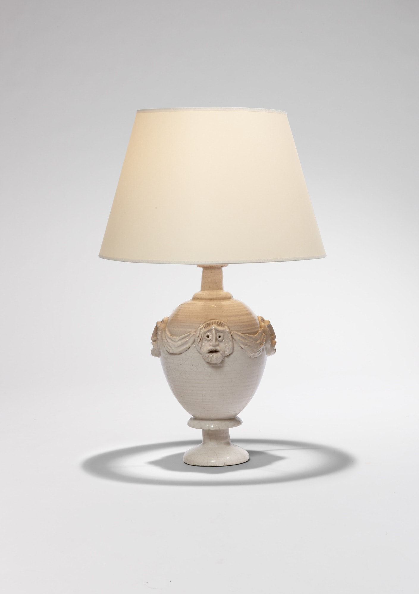 "Lampe ""Masques"", vue 01"