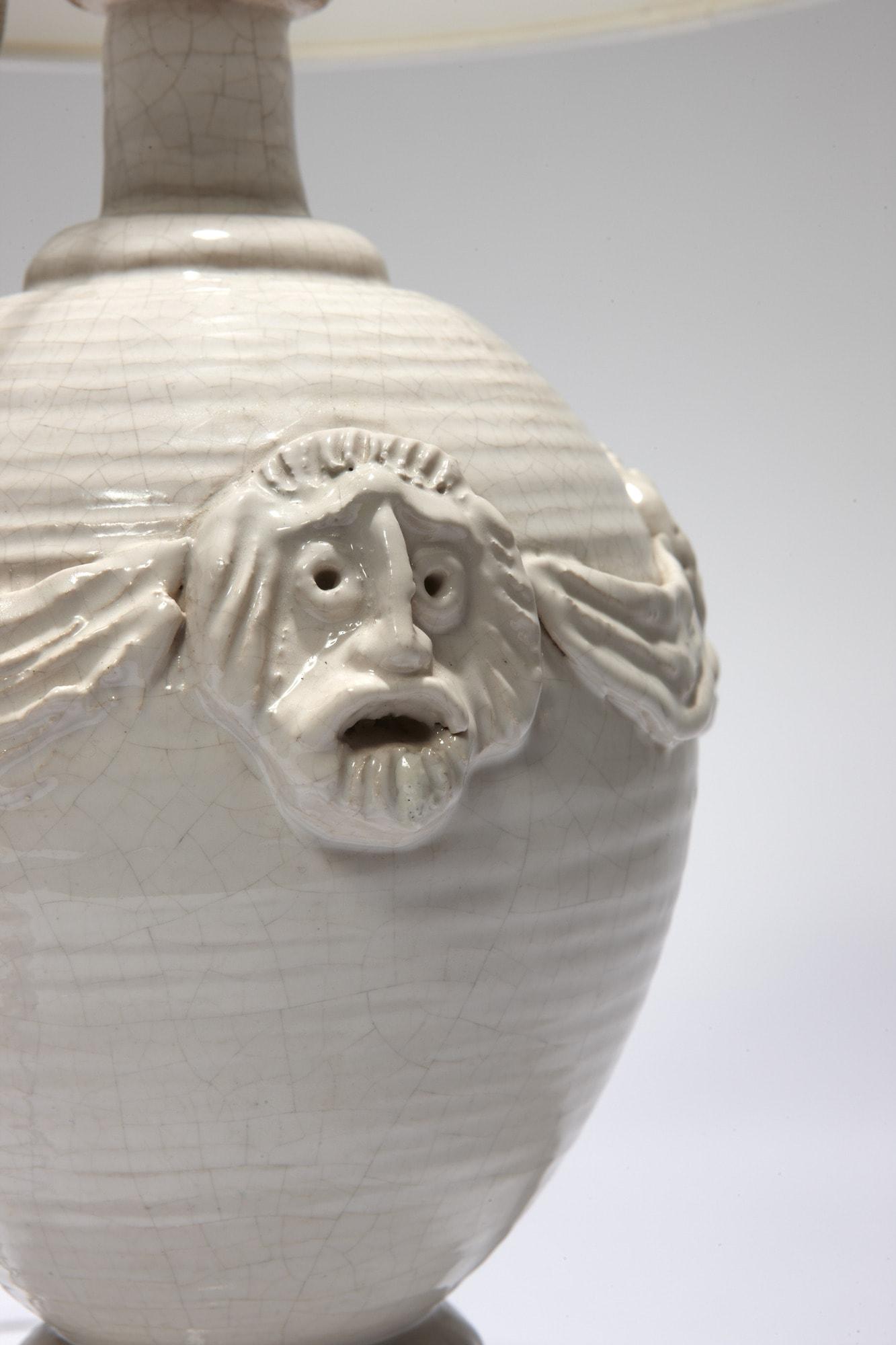 "Lampe ""Masques"", vue 02"