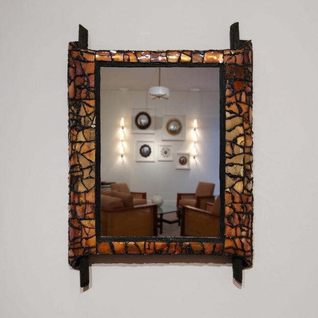 Miroir «Papyrus»