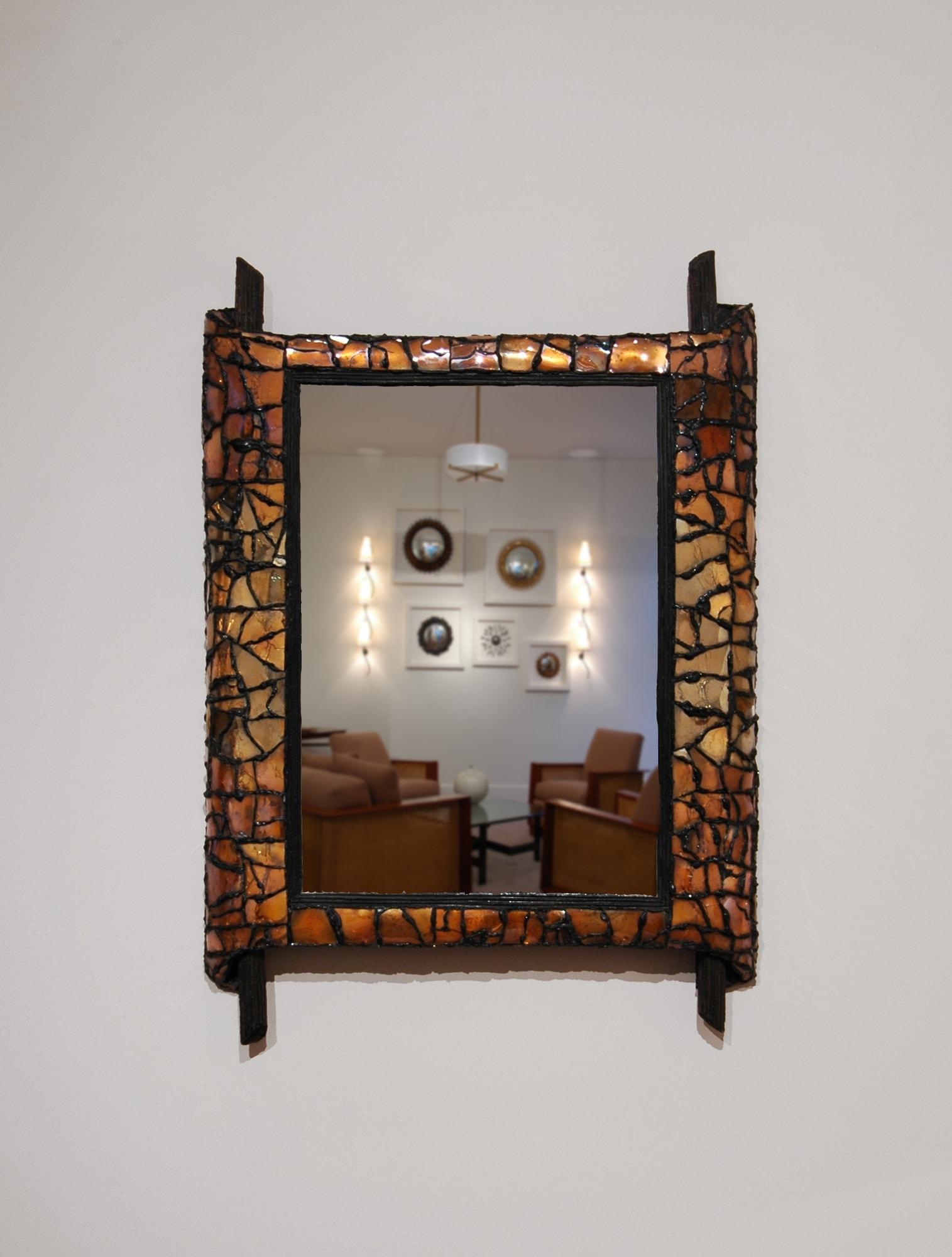 """Miroir """"Papyrus"""", vue 01"""