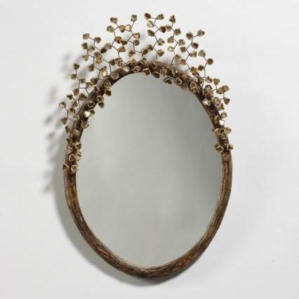 Miroir «Perruque»