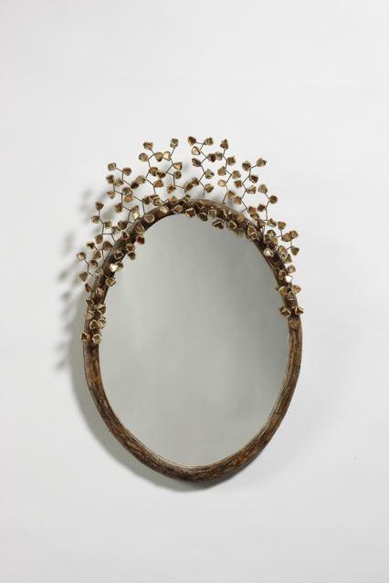 Miroir «Perruque», vue 01