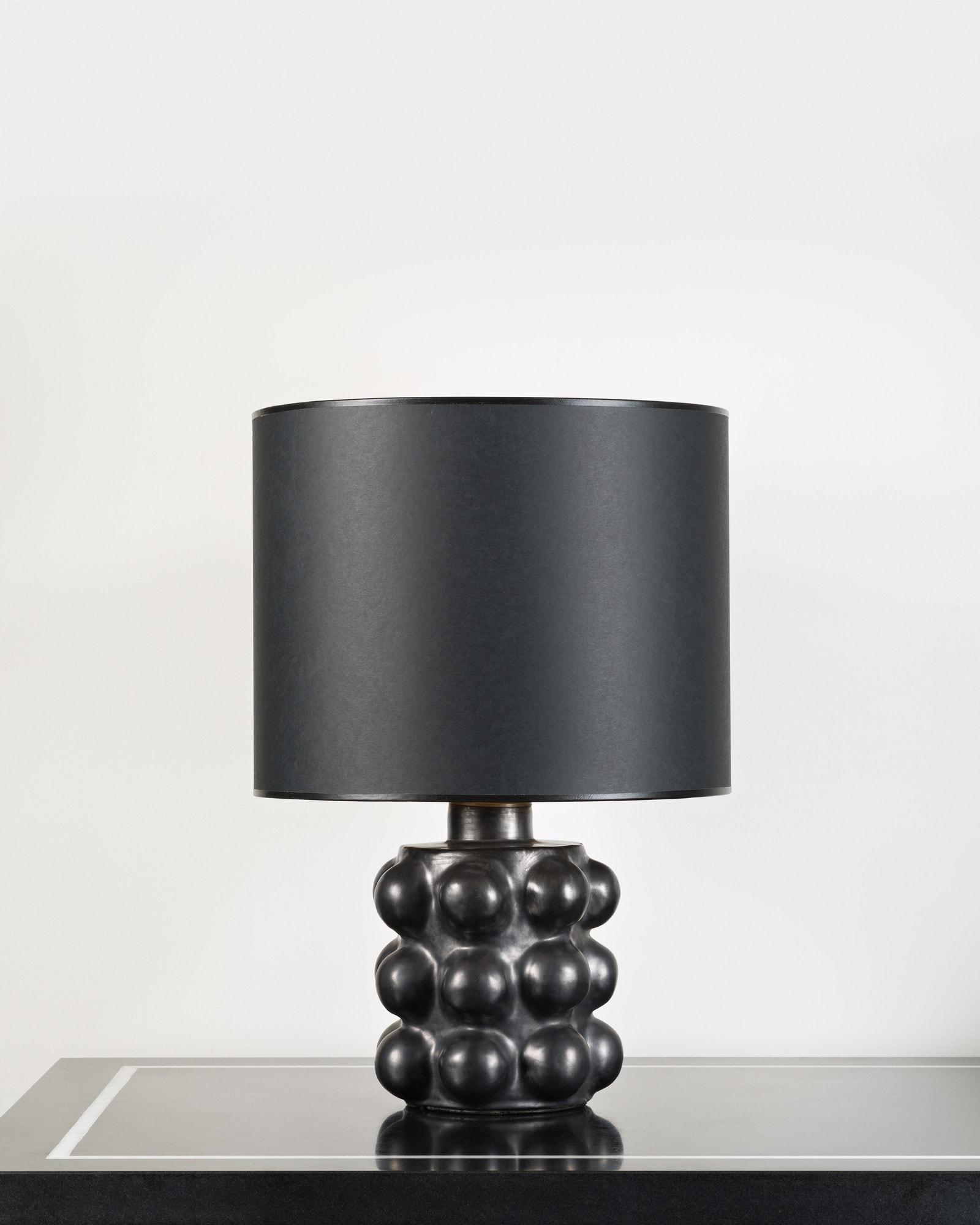 Georges Jouve, Lampe en céramique, vue 01