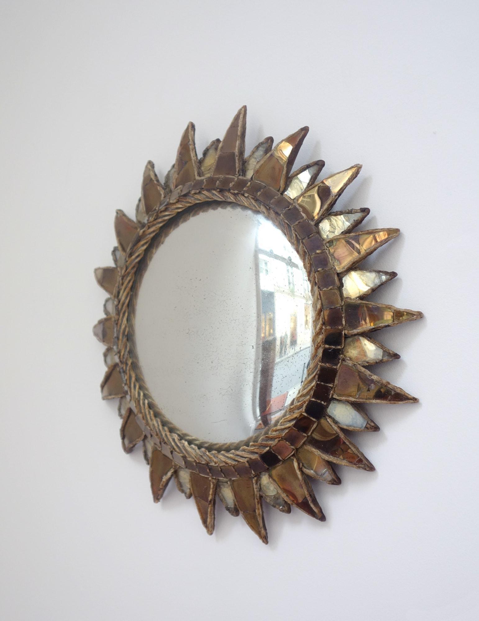Line Vautrin, Miroir « Soleil à pointes n°2 », vue 03