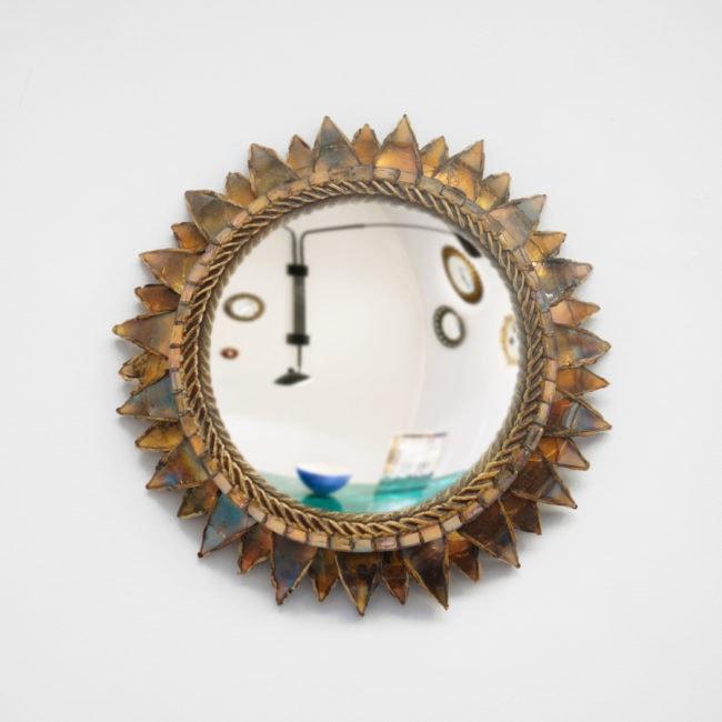 Line Vautrin, Miroir « Soleil à pointes n°2 »