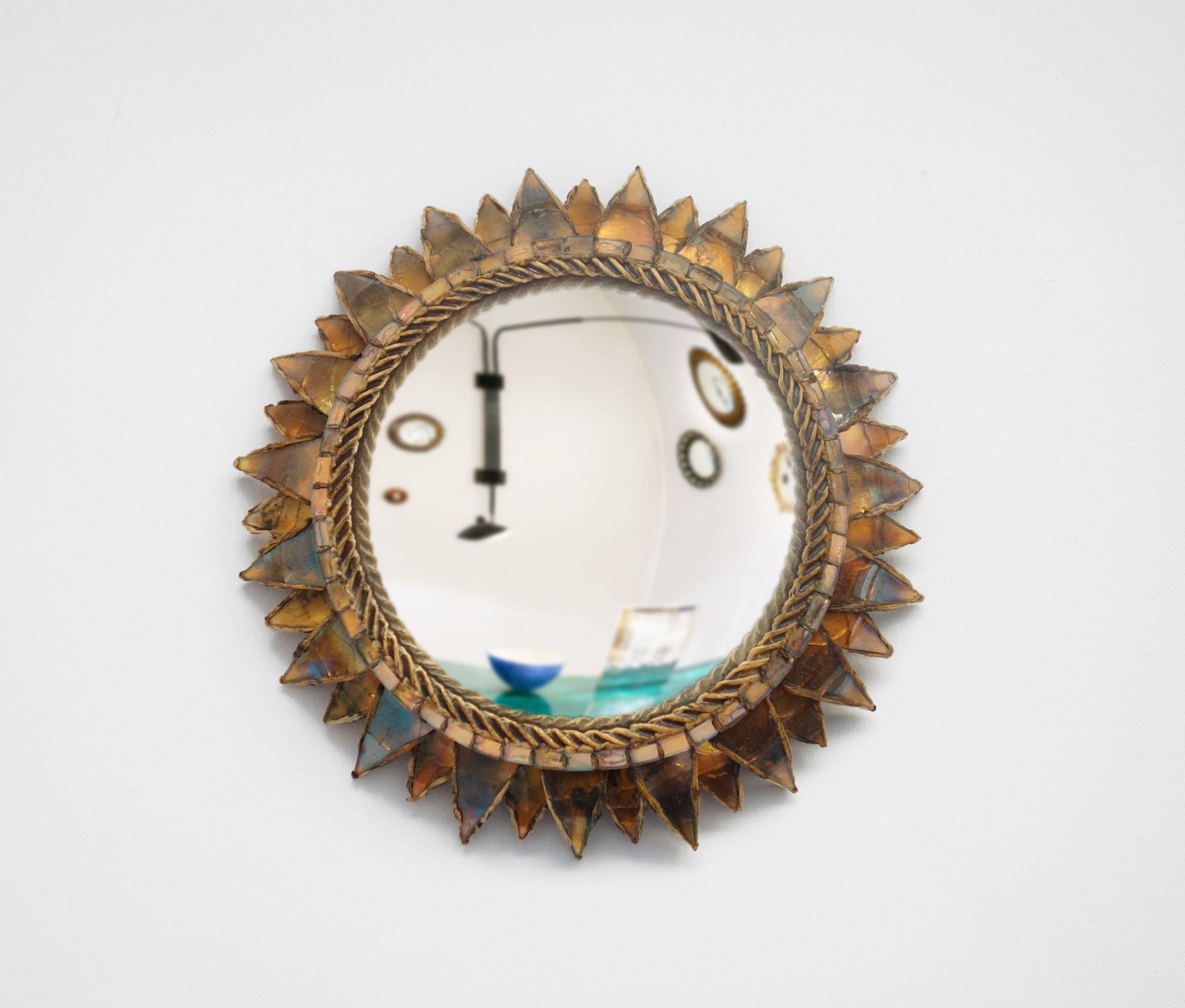 Line Vautrin, Miroir « Soleil à pointes n°2 », vue 01
