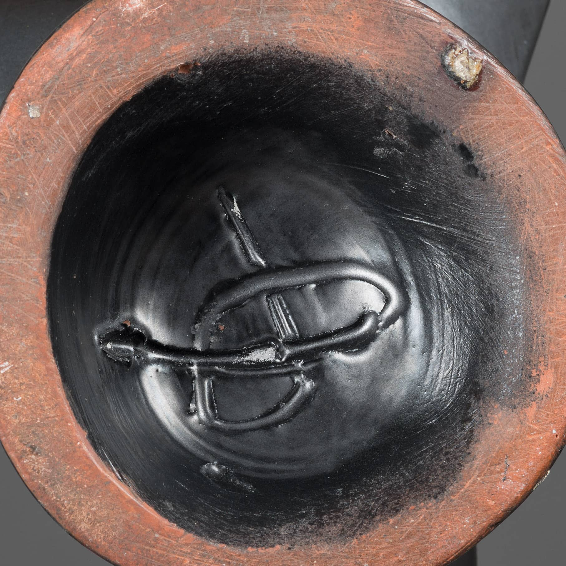 Georges Jouve, Ceramic lamp, vue 03