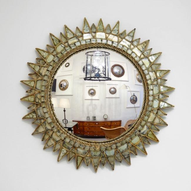 Line Vautrin, Miroir «Soleil à pointes n°3»