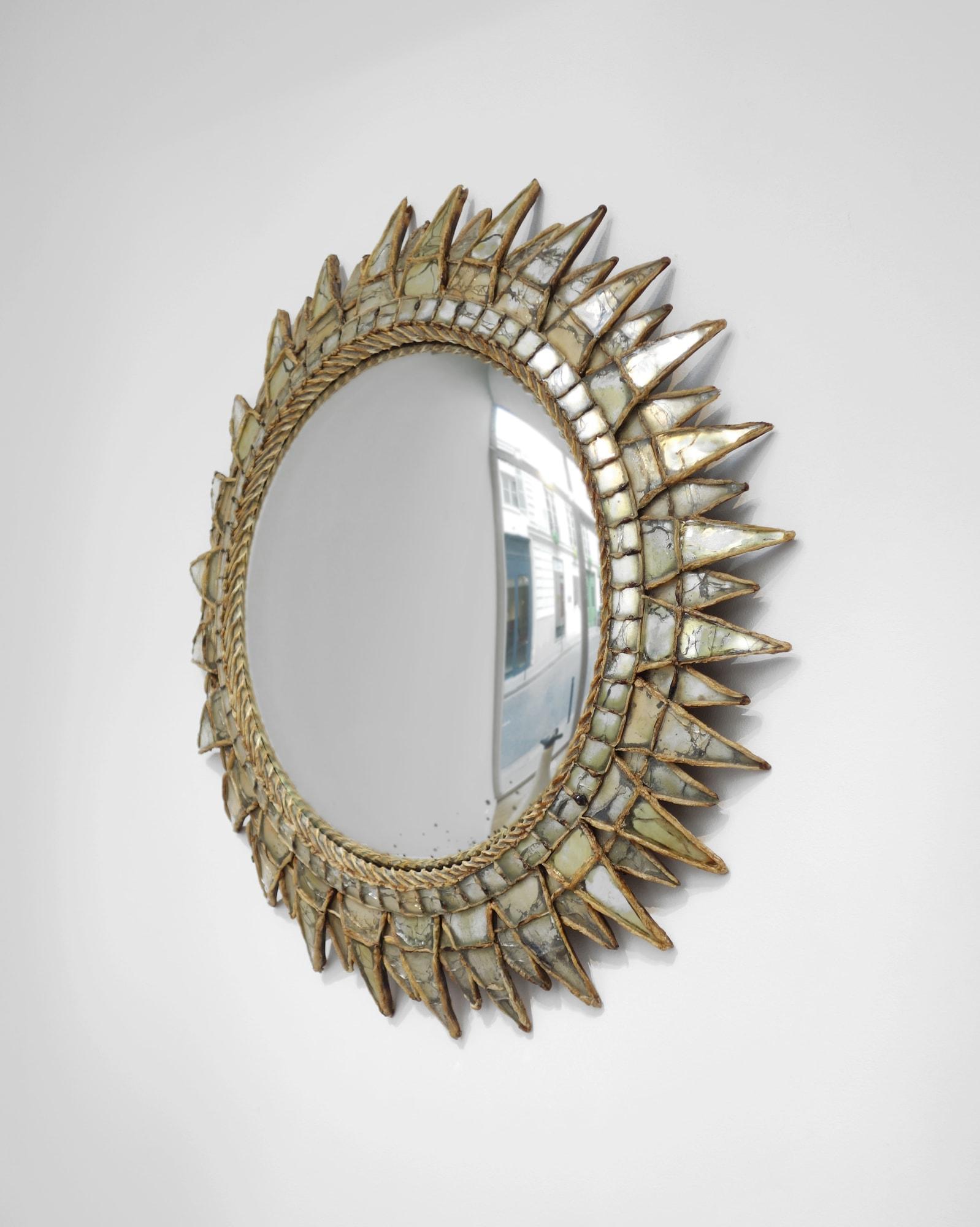 Line Vautrin, Miroir «Soleil à pointes n°3», vue 02