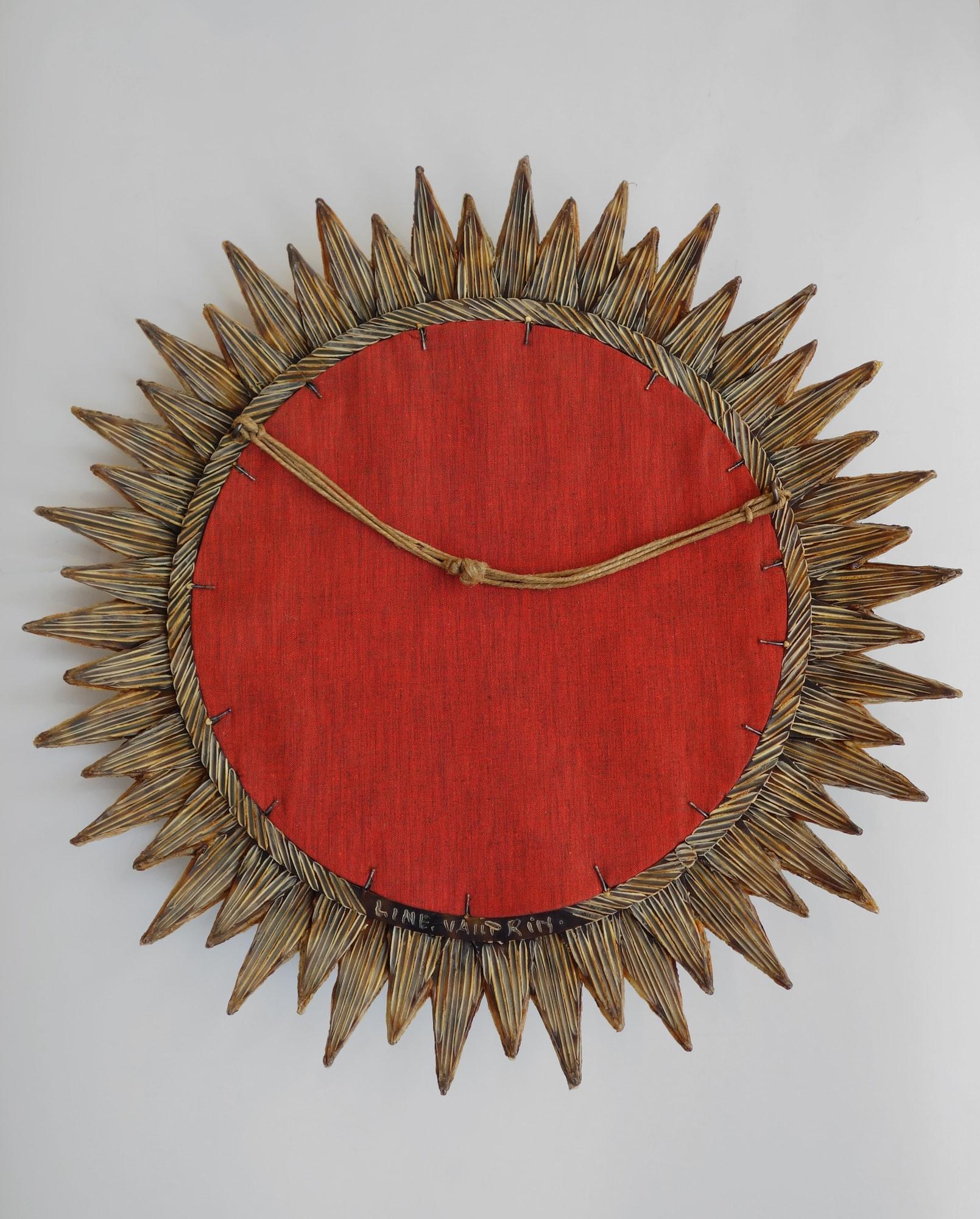 Line Vautrin, Miroir «Soleil à pointes n°3», vue 04