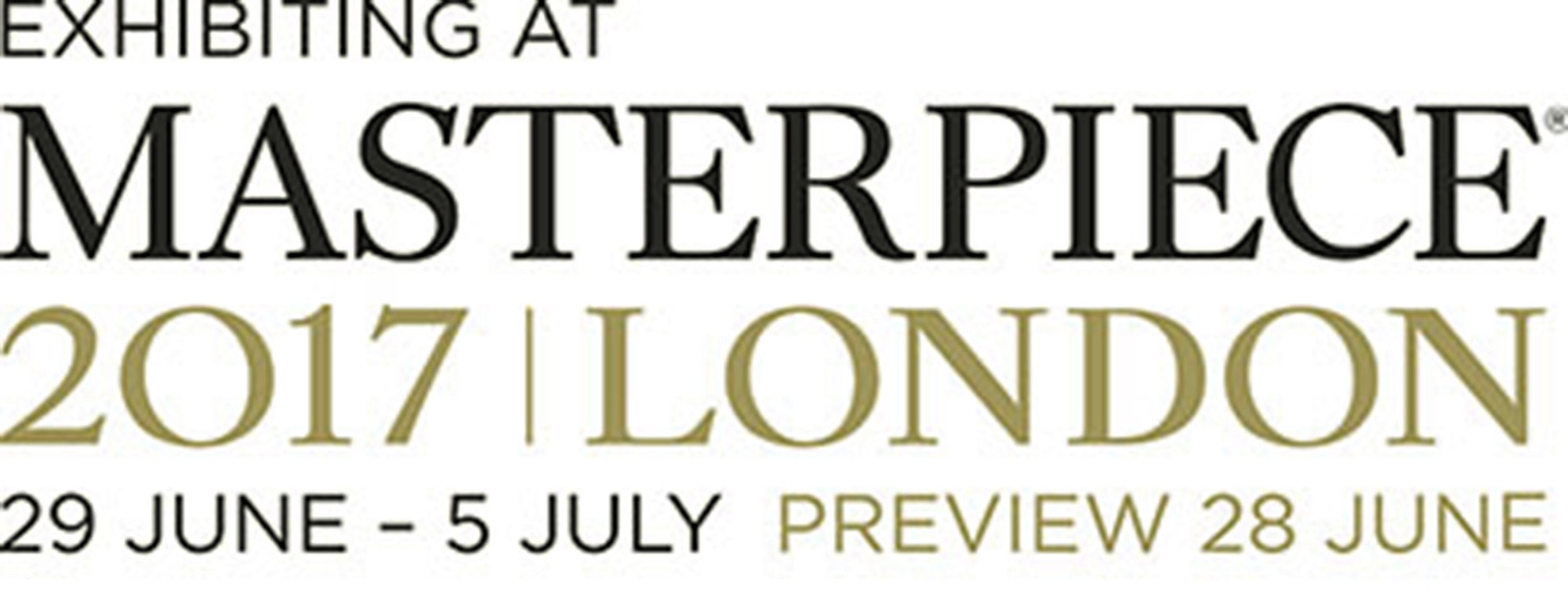 Masterpiece London from June 29 to July 5, 2017