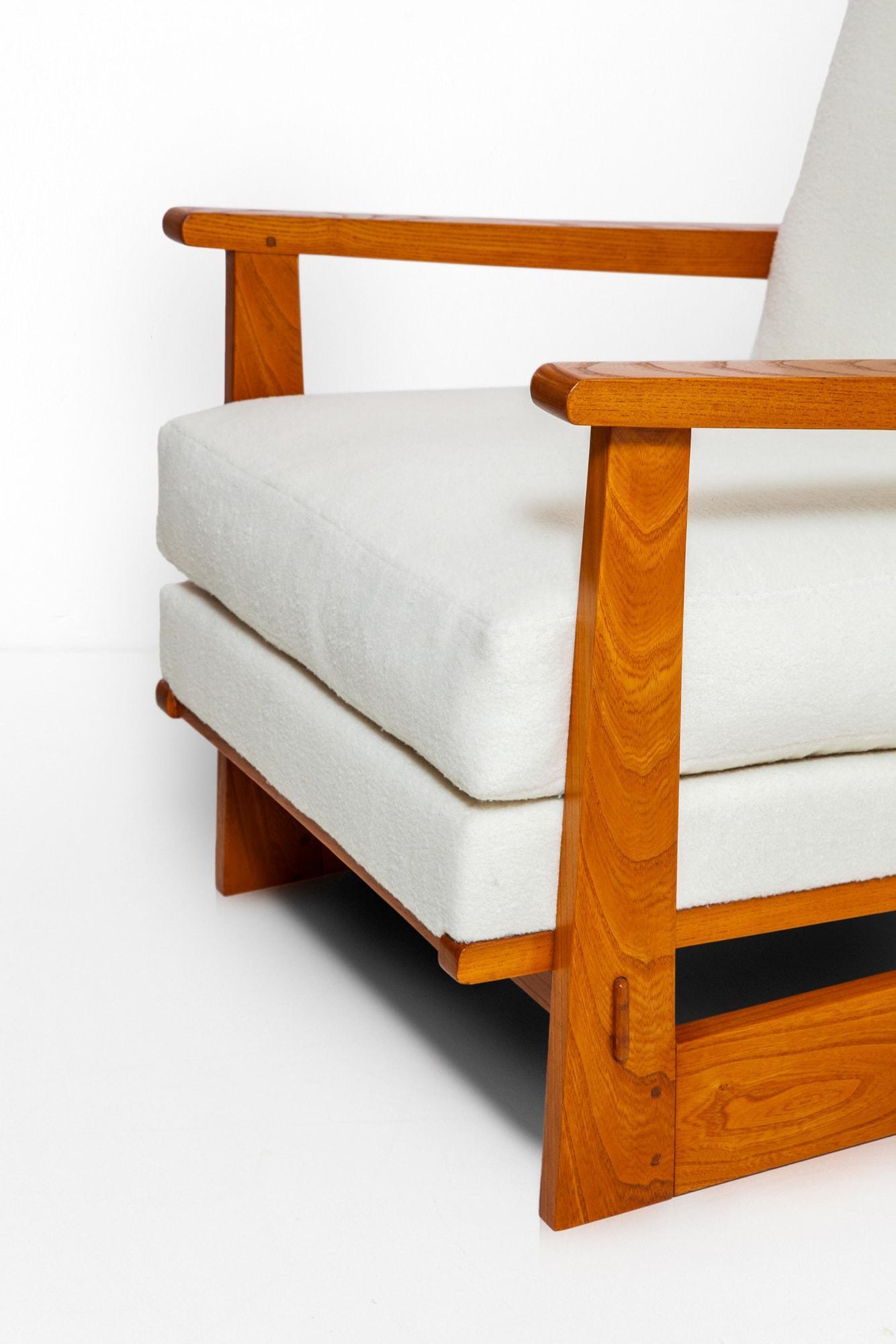 Maxime Old, Paire de fauteuils modernistes, vue 02