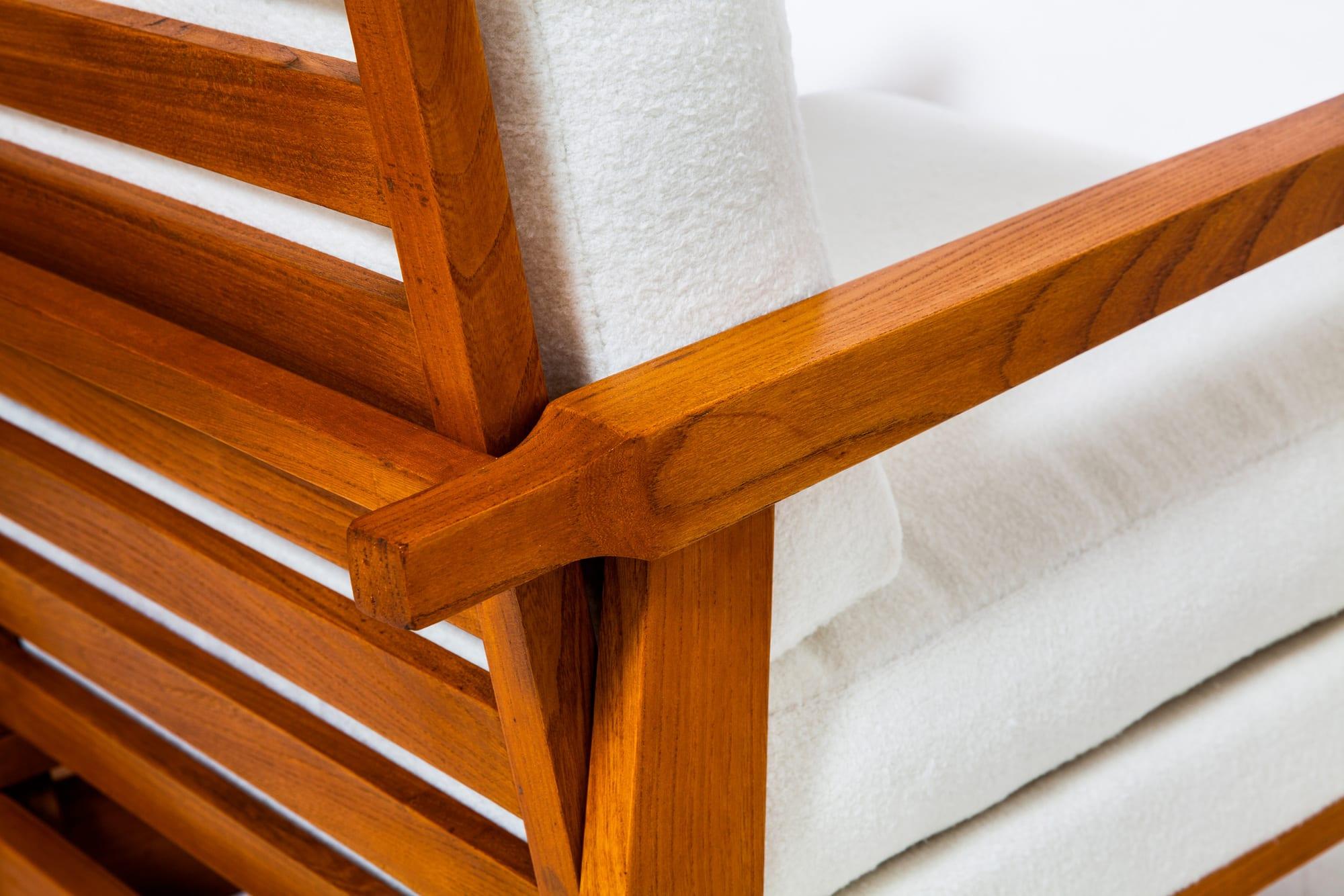 Maxime Old, Paire de fauteuils modernistes, vue 03