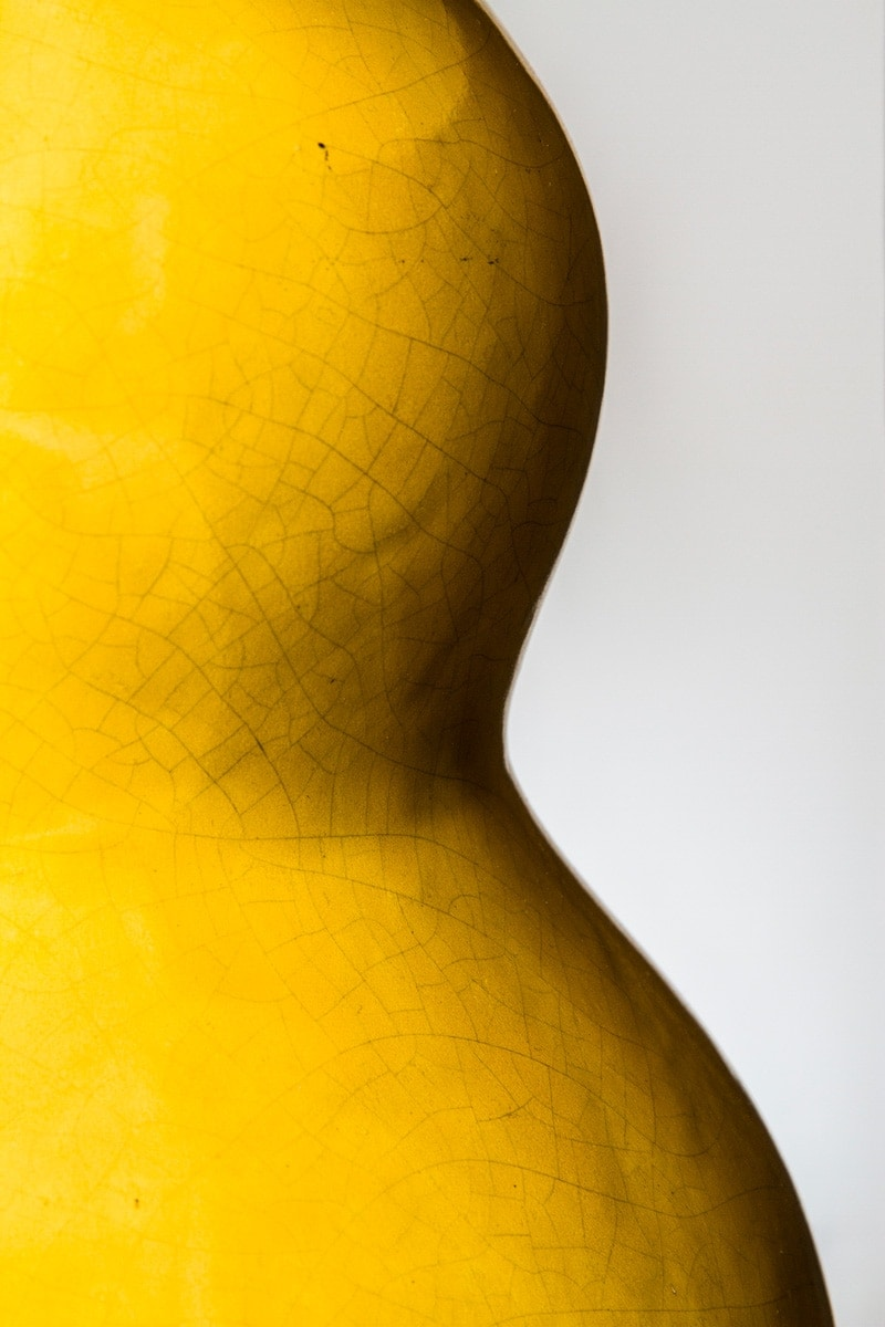 Ateliers Martine et Paul Poiret, Vase monté en lampe, vue 02