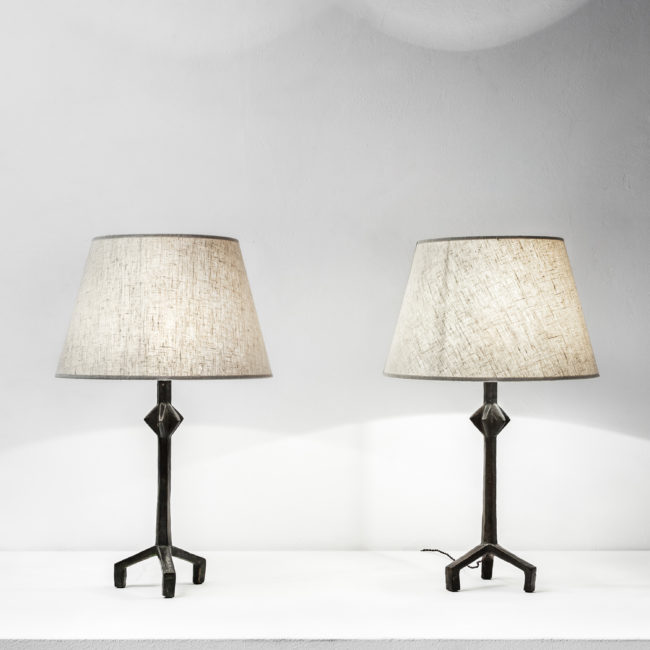 Alberto Giacometti, Paire de lampes «Etoile»