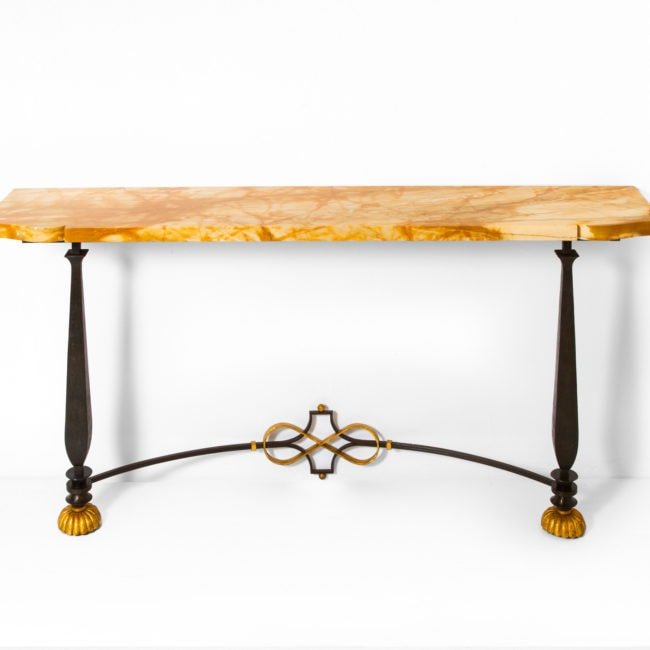 Gilbert Poillerat, Console table (sold)