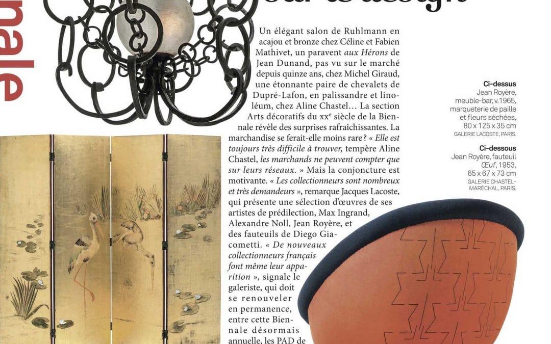 Connaissance des arts – Zoom sur le Design – French magazine