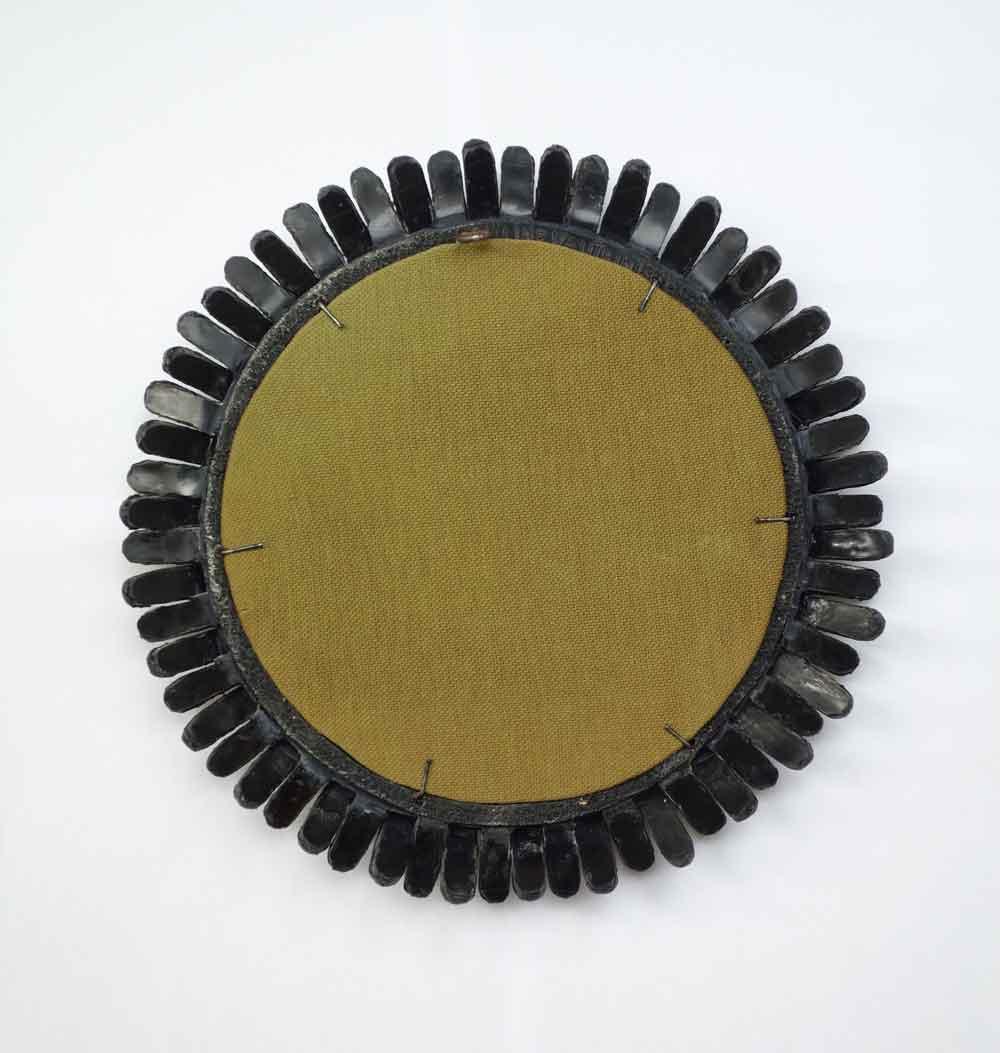 """Line Vautrin , Miroir """"Gerbera"""" (vendu), vue 03"""