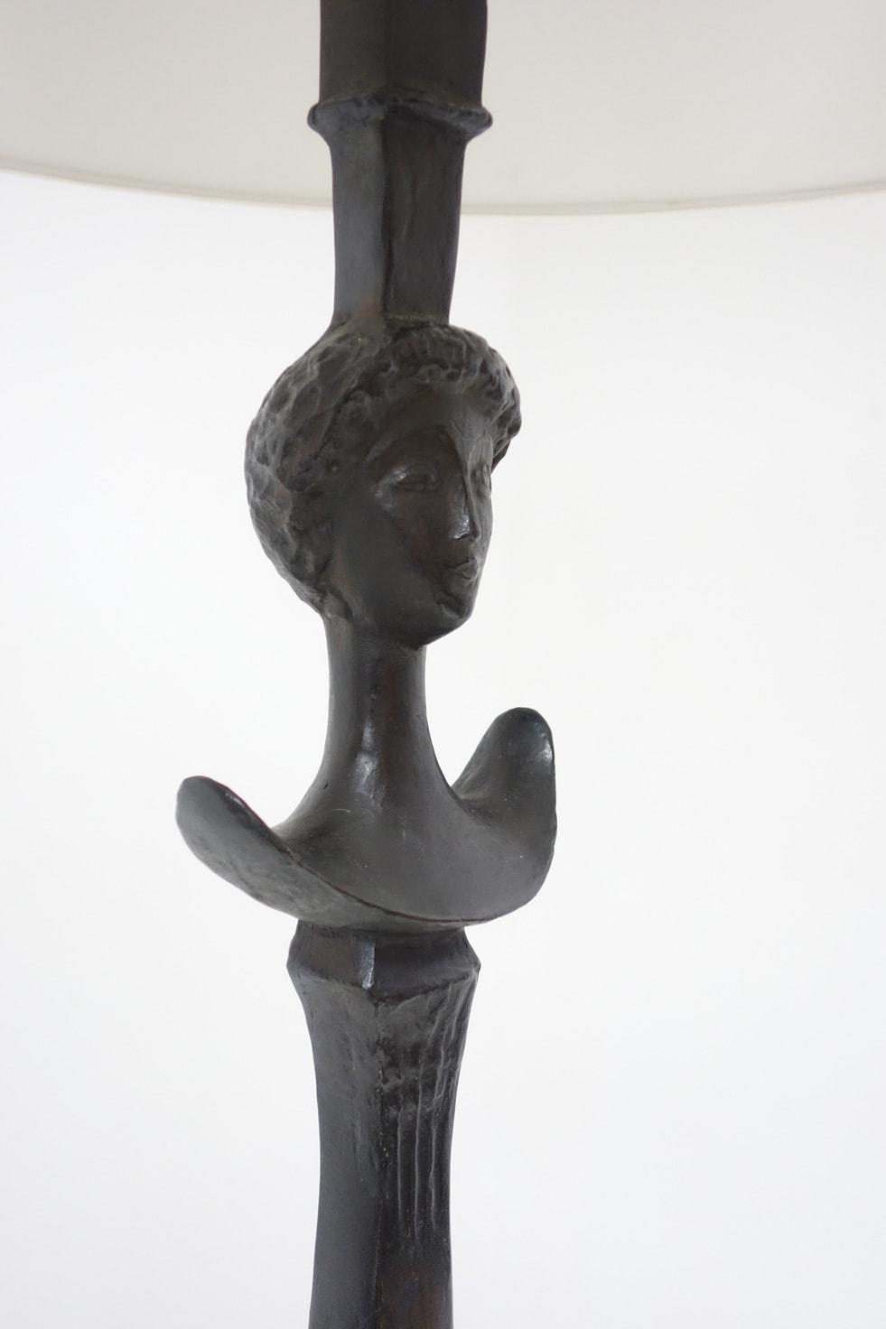 Alberto Giacometti, Lampadaire «Figure» (vendu), vue 03