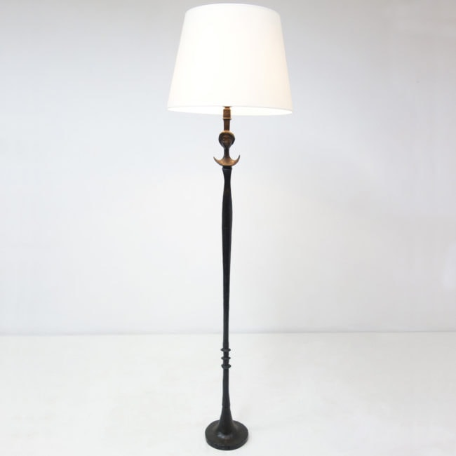 "Alberto Giacometti, ""Figure"" floor lamp (sold)"
