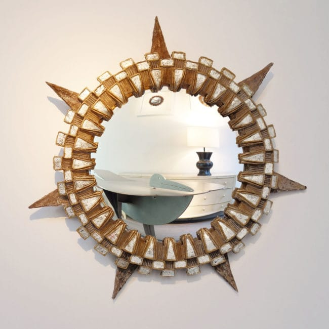 "Line Vautrin, ""Tudor"" mirror"