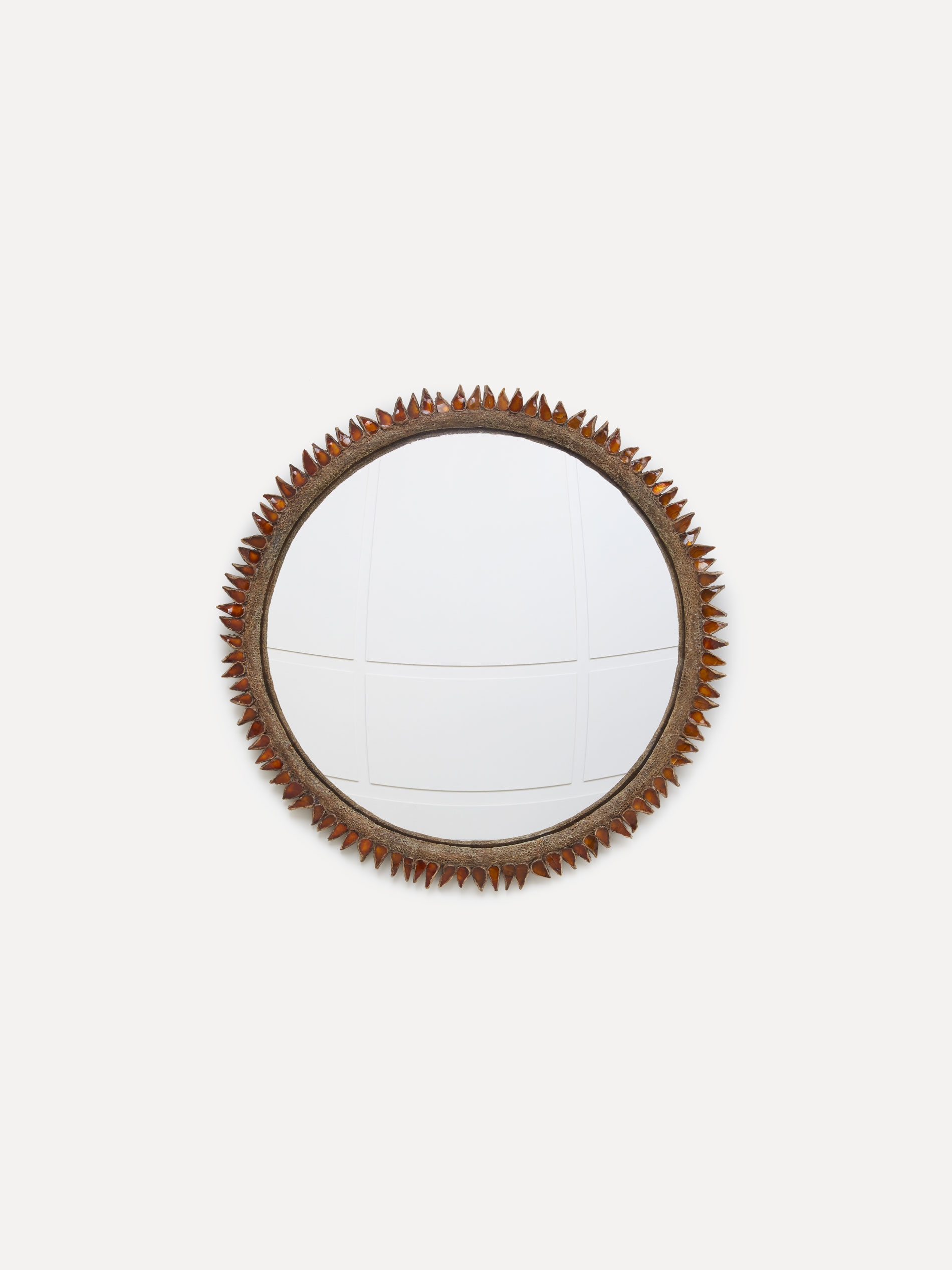 "Line Vautrin, ""Flammes"" mirror, vue 01"