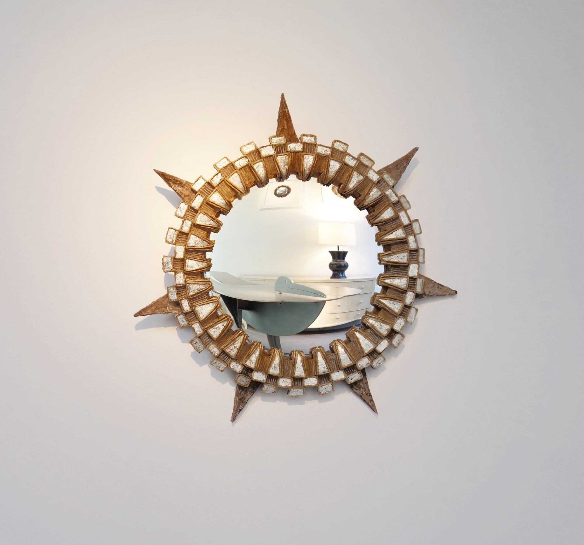 Line Vautrin, Miroir «Tudor», vue 01