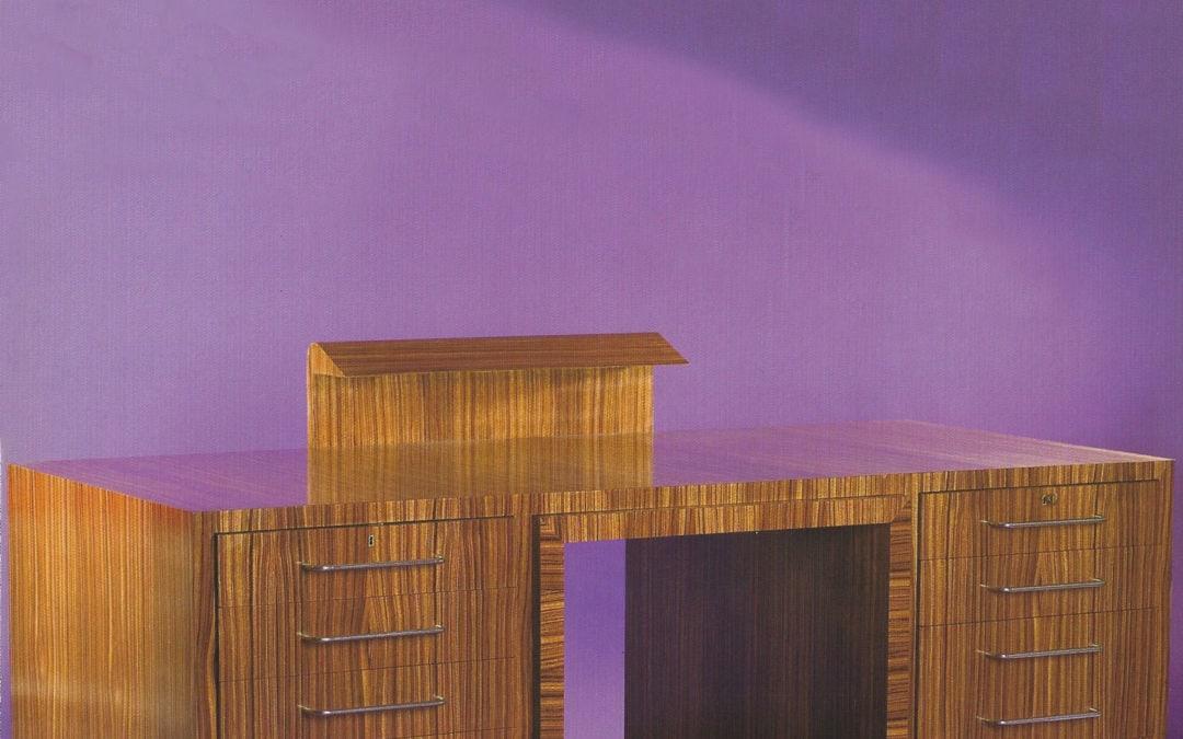 Jean Royère, Dépliant de l'exposition, 2005, Galerie Chastel-Maréchal