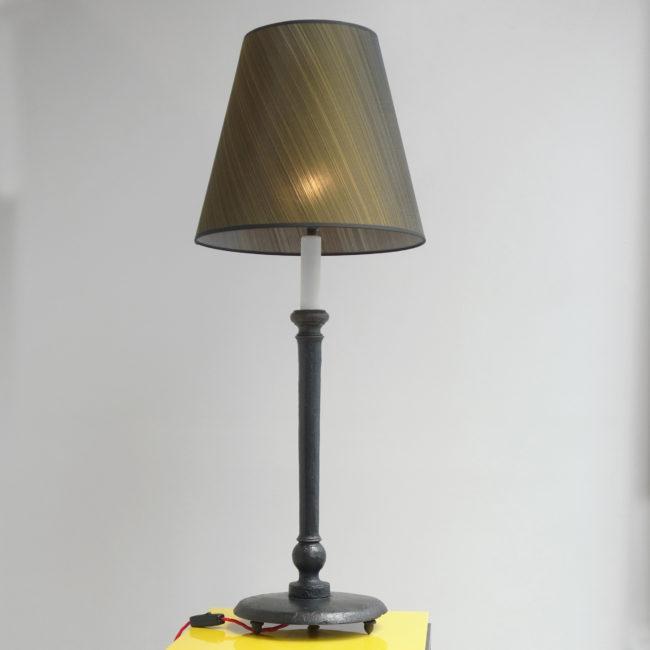 "Marianna Kennedy, ""Acorn"" lamp"