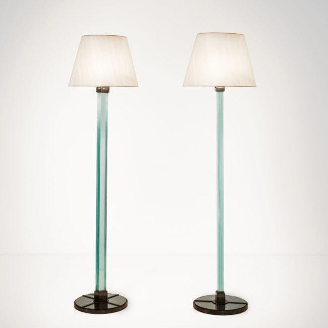 Jean-Michel Frank, Paire de lampadaires (vendue)