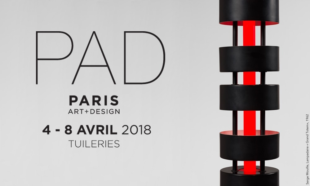 PAD Paris, from 4 to 8 April 2018