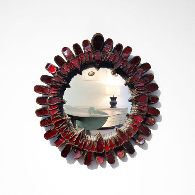 Line Vautrin, Miroir «Gerbera»