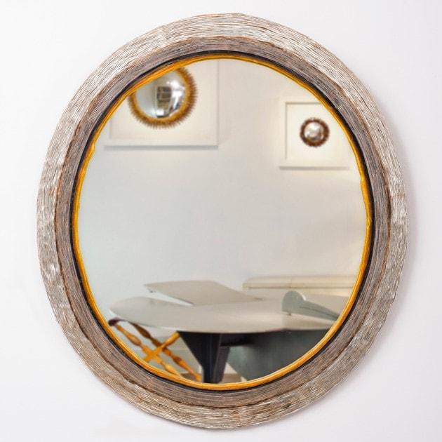 Line Vautrin, Rare miroir ovale (Vendu)