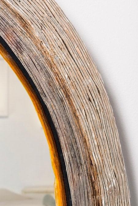 Line Vautrin, Rare miroir ovale (Vendu), vue 02