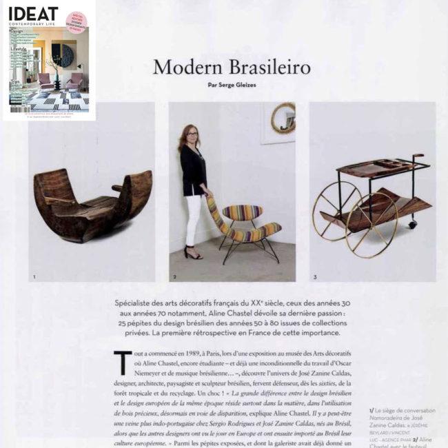 IDEAT, Serge Gleizes, caldas, hauner, eisler, zalszupin, brésil, brazil, design