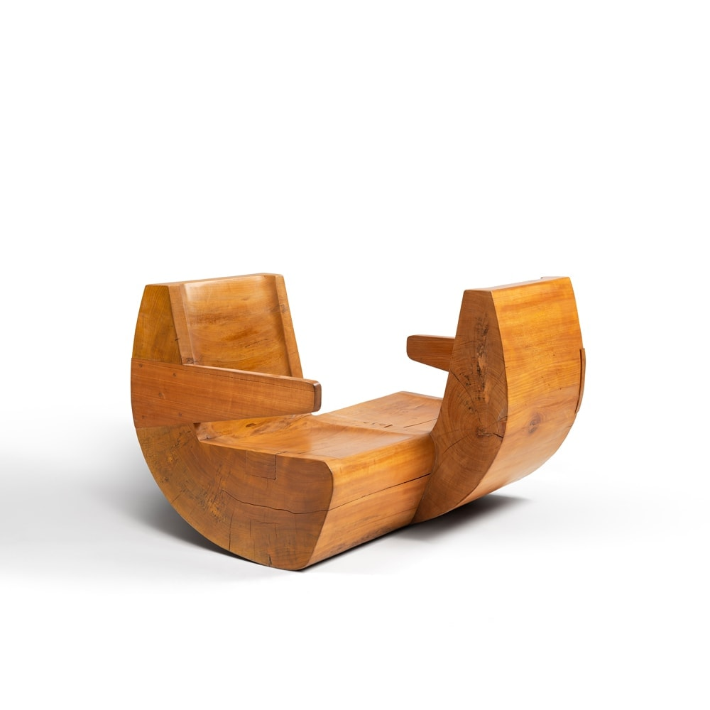 "Jose Zanine Caldas, ""Namoradeira"" conversation seat (sold), vue 01"
