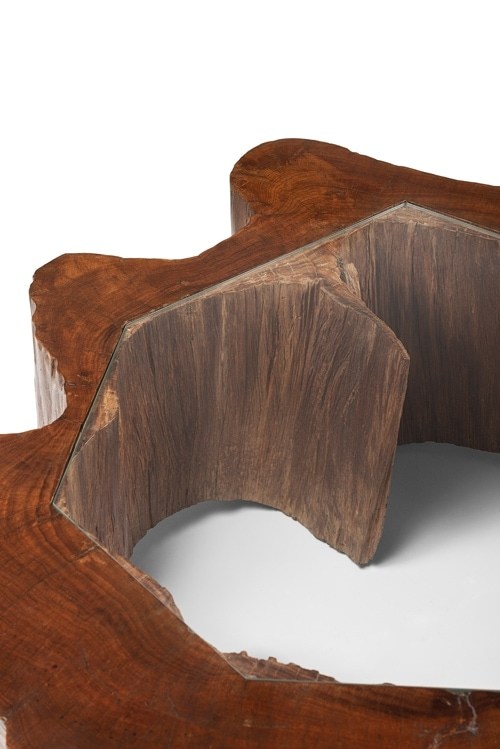 Jose Zanine Caldas, Important and rare low table, vue 03