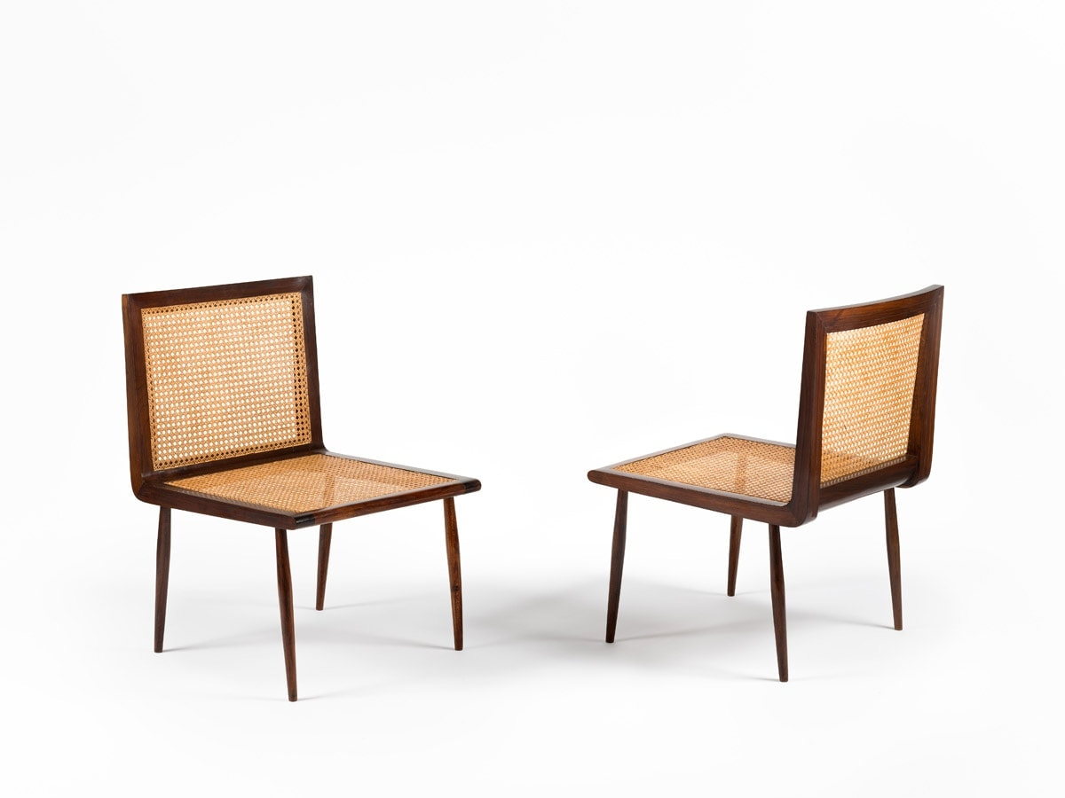 Joaquim Tenreiro, Pair of low chairs, vue 02