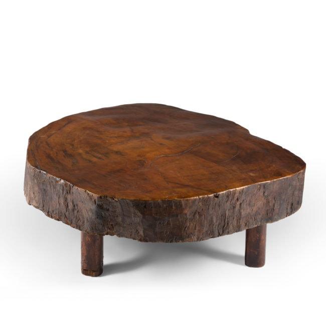 Joaquim Tenreiro, Table Basse Tronc (vendue)
