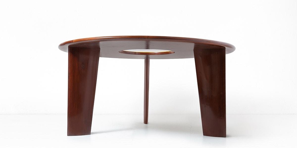 Joaquim Tenreiro, Importante table circulaire, vue 02