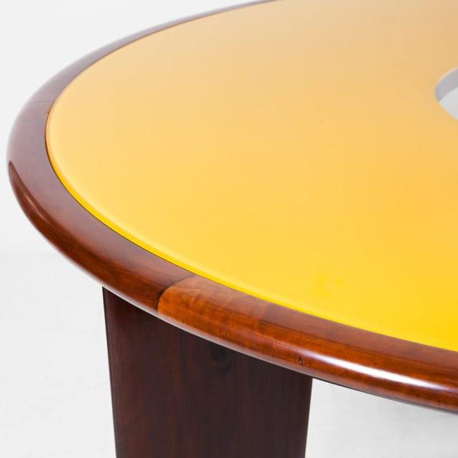 Joaquim Tenreiro, Importante et rare table circulaire (vendue)