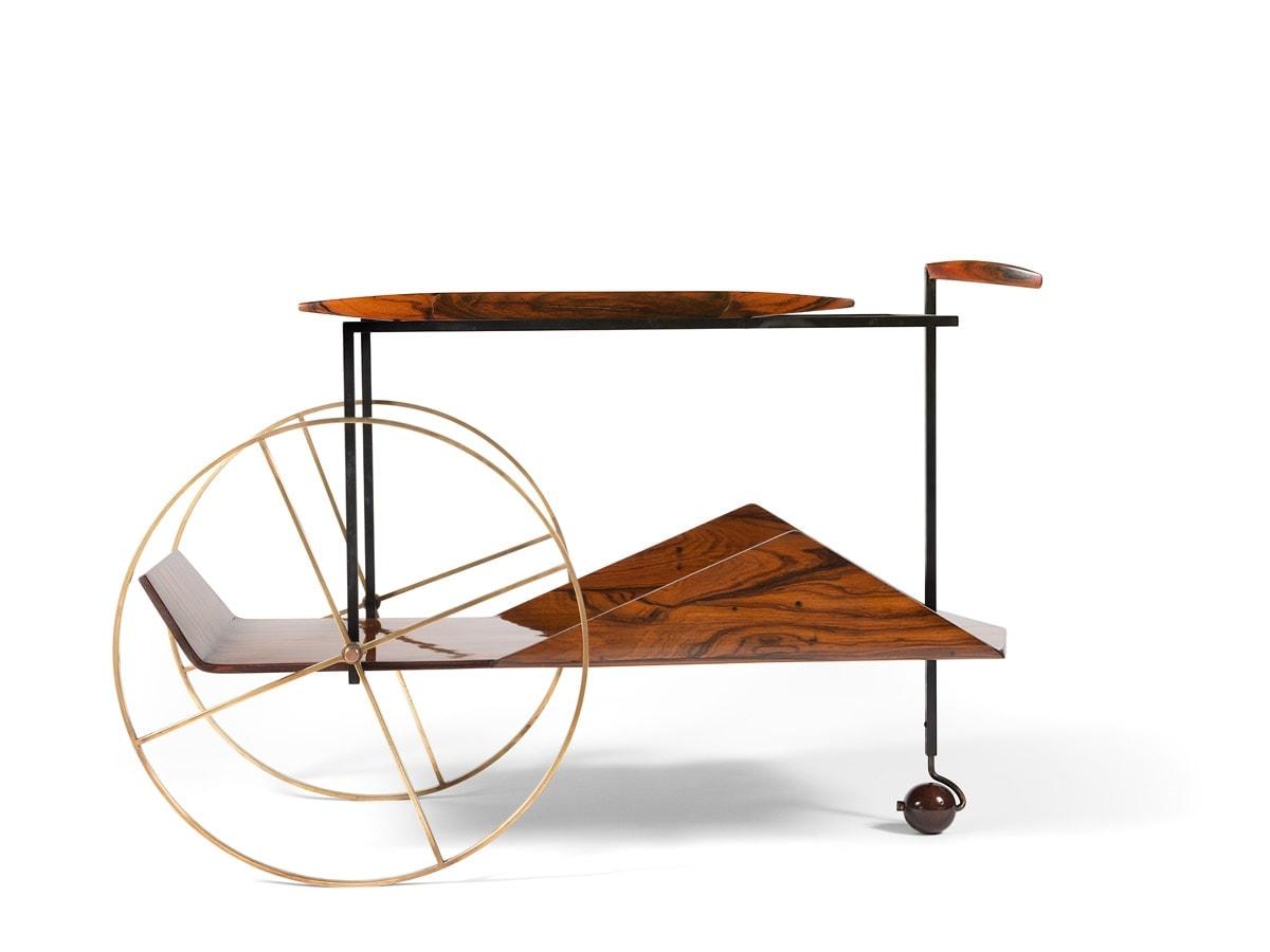 Jorge Zalszupin, Trolley à thé, vue 01