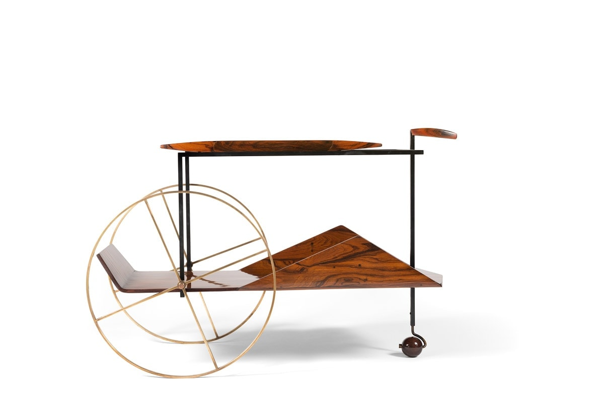 Jorge Zalszupin, Trolley à thé, vue 02