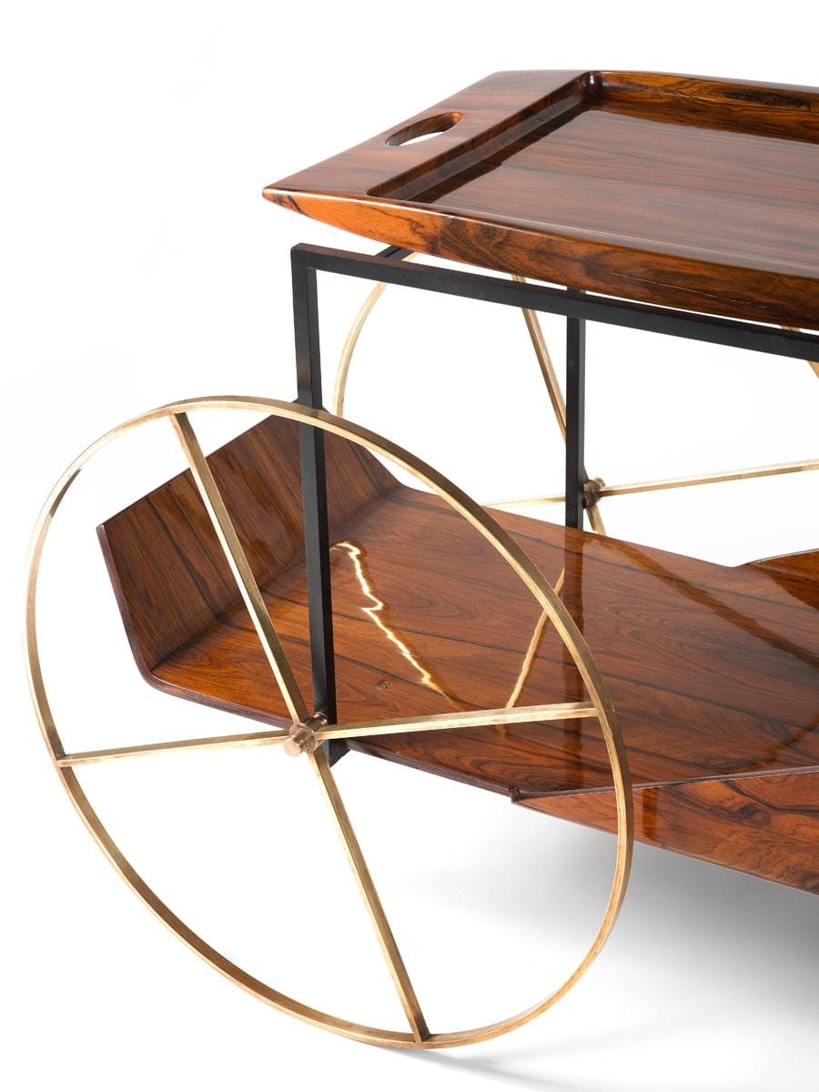 Jorge Zalszupin, Trolley à thé, vue 03