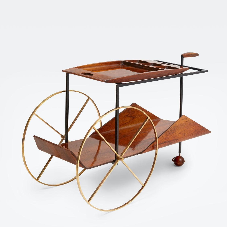 Jorge Zalszupin, Tea trolley, vue 01
