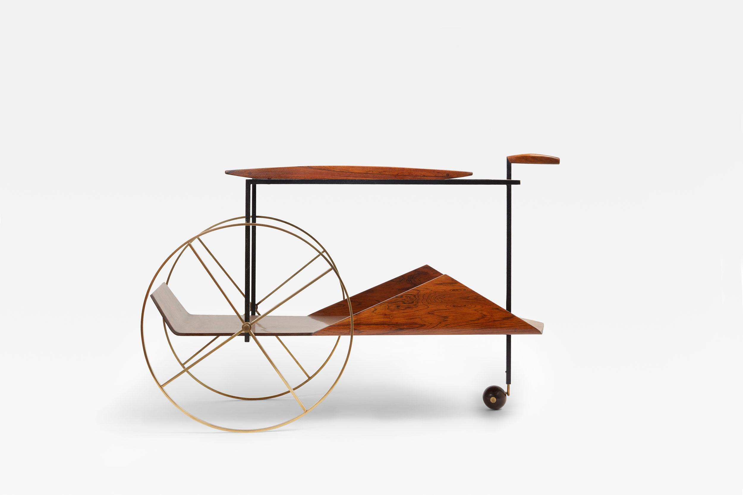 Jorge Zalszupin, Tea trolley, vue 02