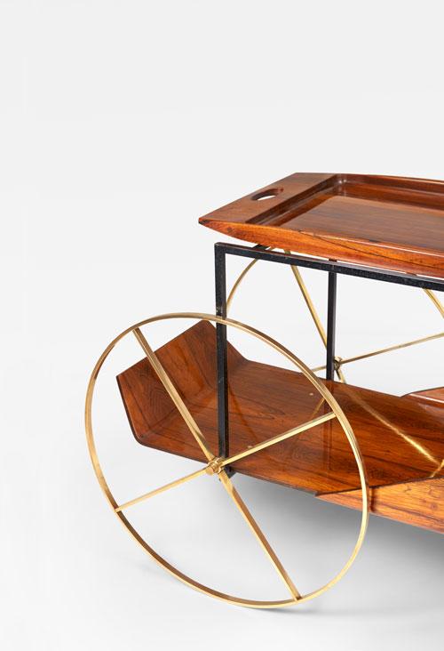 Jorge Zalszupin, Tea trolley, vue 03